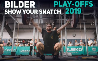 "Olympisches Gewichtheben — Bilder Event 3 ""Show Your Snatch"""