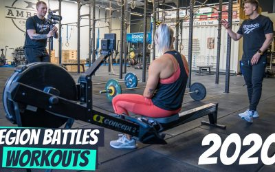 Die Workouts der Region Battles 2020